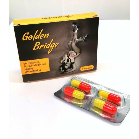 Golden Bridge For Men – prírodný výživový doplnok s rastlinnými výťažkami (4ks)