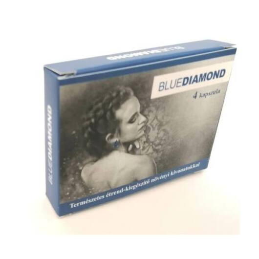 Blue Diamond For Men – prírodný výživový doplnok s rastlinnými výťažkami (4ks)