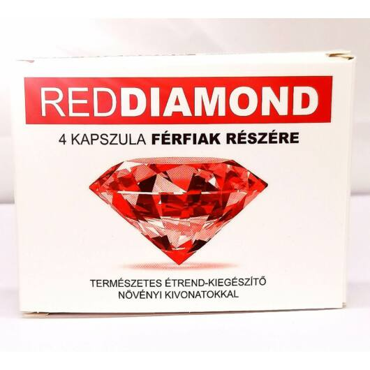 Red Diamond - natural dietary supplement for men (4pcs)