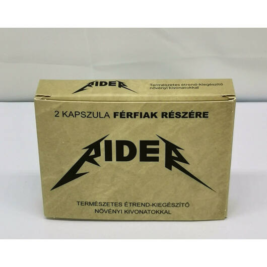 Rider - natural dietary supplement for men (2pcs)
