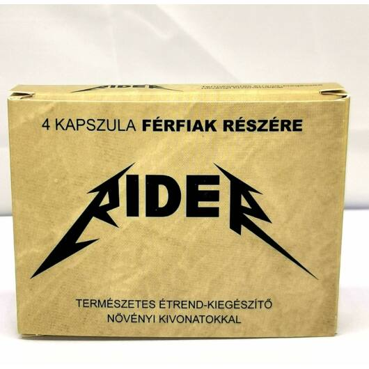 Rider - natural dietary supplement for men (4pcs)