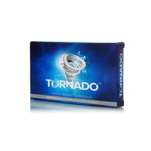 Tornado – výživový doplnok pre mužov v kapsulách s rastlinnými výťažkami (2ks)