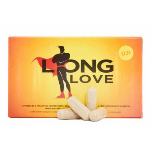 Long Love - výživový doplnok pre mužov na oddialenie ejakulácie (4ks)
