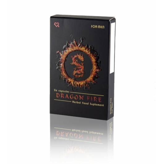 Dragon Fire – výživový doplnok pre mužov (6ks)