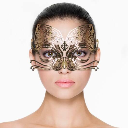 Metal Mask Gold