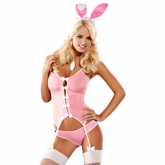 Obsessive - kostým zajačice (ružový)