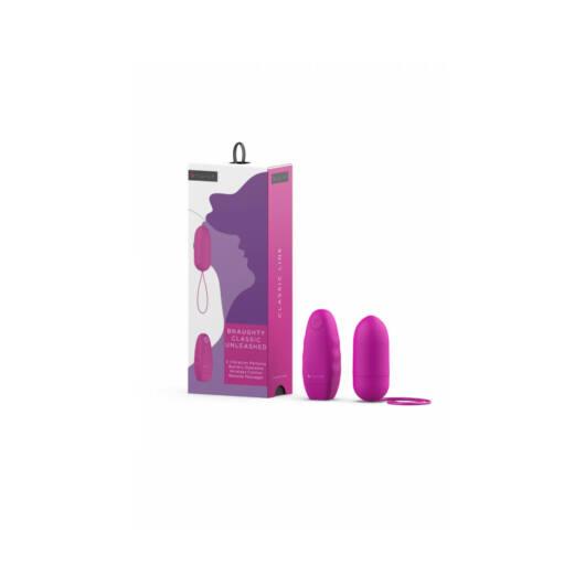 B SWISH - rádiom riadené vibračné vajíčko (pink)