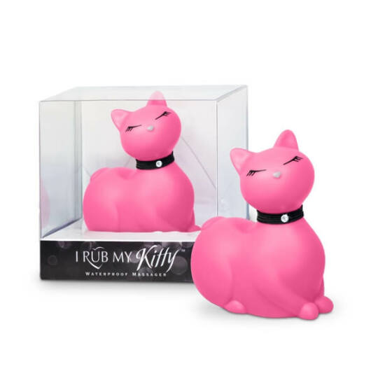 I Rub My Kitty - pradúca mačička - vibrátor na klitoris (ružový)