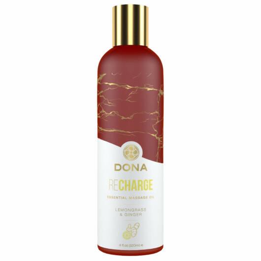 Dona Recharge - vegánsky masážny olej (medovka-zázvor) - 120ml