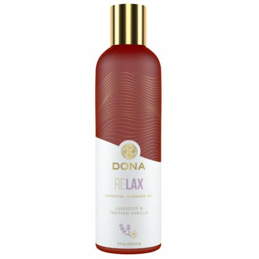 Dona Relax - vegánsky masážny olej (levanduľa-vanilka) - 120ml