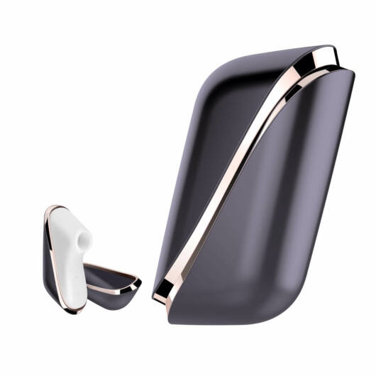Satisfyer Pro Traveler - nabíjací cestovný stimulátor na klitoris (čierno-biely)