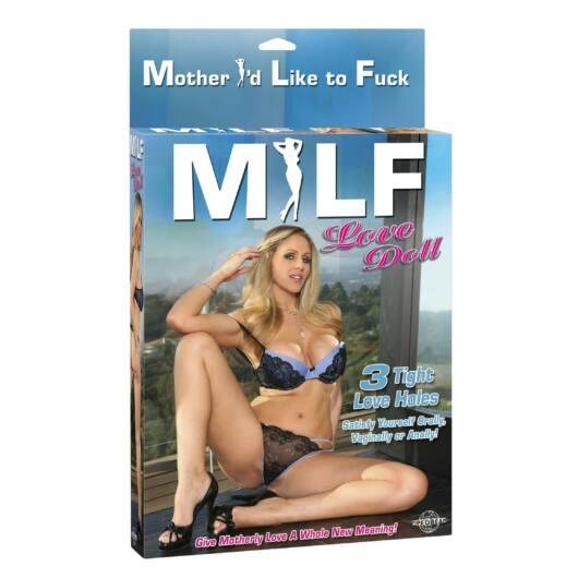 MILF – nafukovacia panna životnej veľkosti
