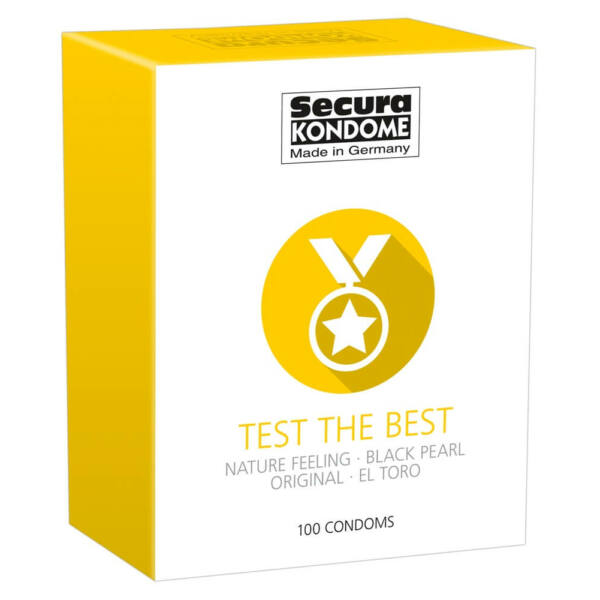 Secura Test the Best - Condom Selection (100pcs)
