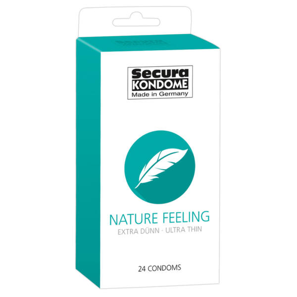 Secura Nature Feeling - extra tenké kondómy (24 ks)