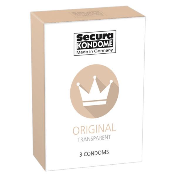 Secura Original condom (3pcs)