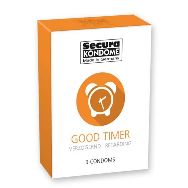 Secura Good Timer kondomy (3ks)