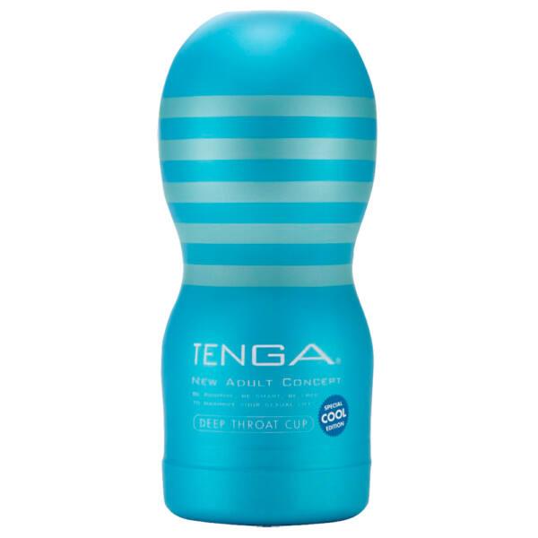 TENGA Deep Throat cool - hlboké hrdlo (mäkké)