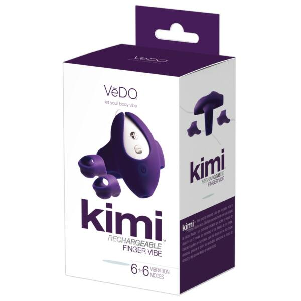 VeDO Kimi - Cordless Double Finger Wrist with Wristband (Purple)