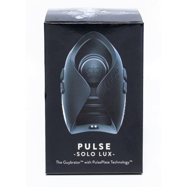 Hot Octopuss Pulse Solo Lux - Cordless Radio Masturbator (Black)