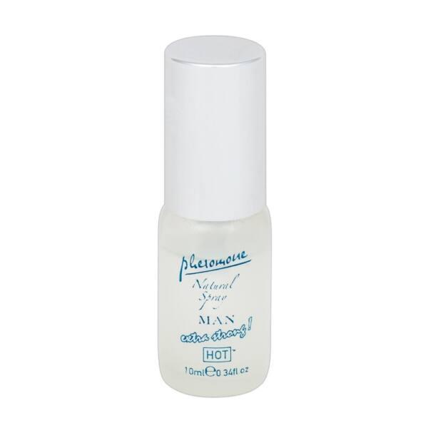 HOT Natural Man Extra Strong - pánsky parfém s obsahom feromónov (10ml)
