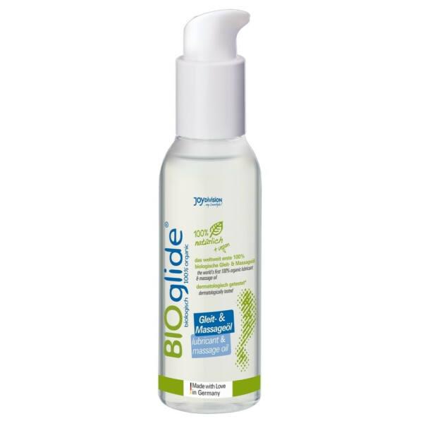 BIOglide lubricant and massage oil (125ml)