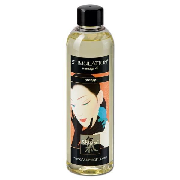 Shiatsu massage orange 250 ml