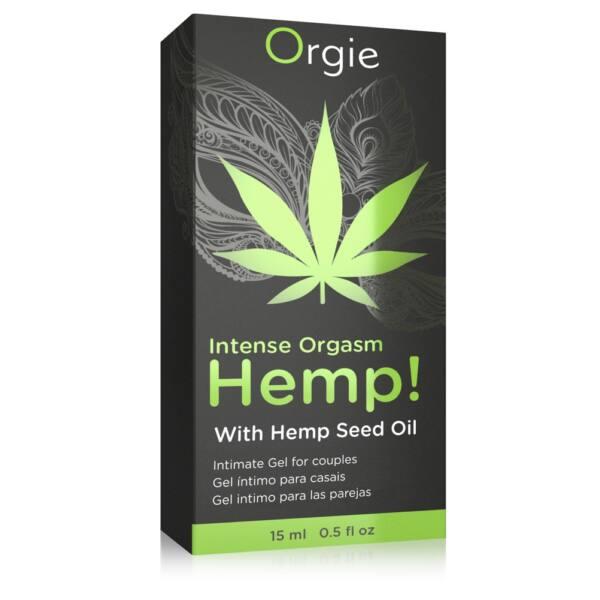 Orgie Hemp - stimulačný intímny gél pre ženy a mužov (15ml)