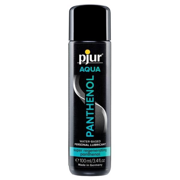 pjur AQUA Panthenol - Regenerating Water-Based Anal Grease (100ml)