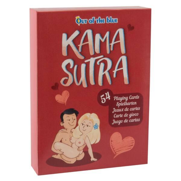 Kama Sutra - francúzske karty s vtipnými sexuálnymi polohami (54 ks)