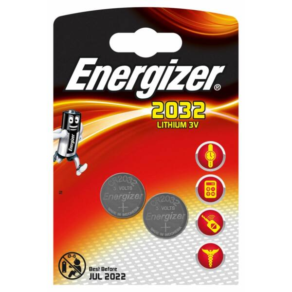 Energizer CR2032 (2pc)