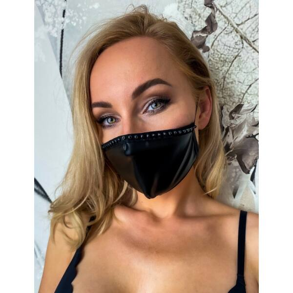 Face Mask Decorative Seam