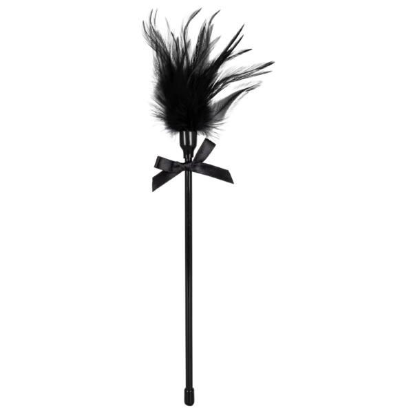 Hladkadlo z pravého peria - čierne