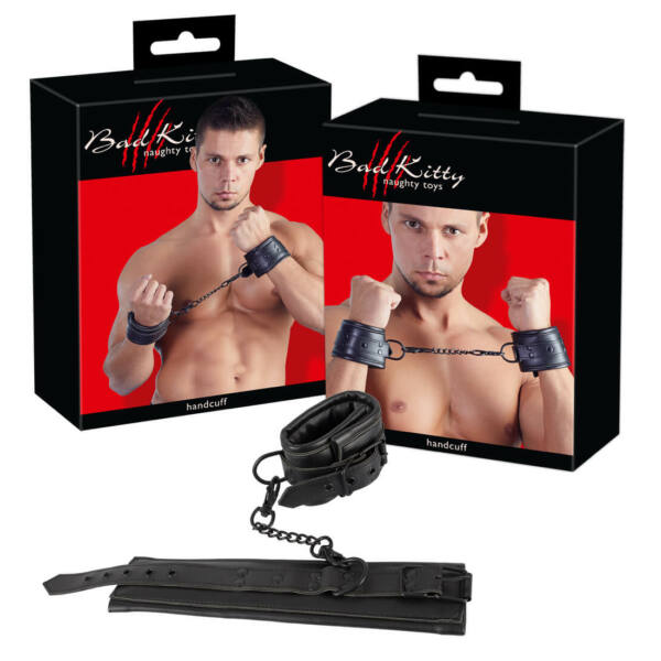 Bad Kitty - Padded Leatherette Clamp (Black)