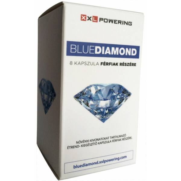 BlueDiamond - výživový doplnok v kapsulách pre mužov (8 ks)