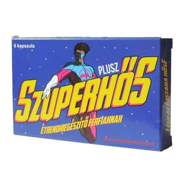 Superheroes for Men's Supplements (6pcs)