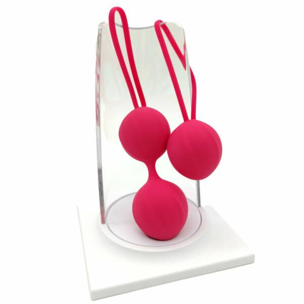 Cotoxo Cherry - dvojdielna sada gejša guličiek (červené)