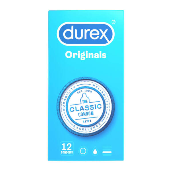 Durex klasické kondómy (12 ks)