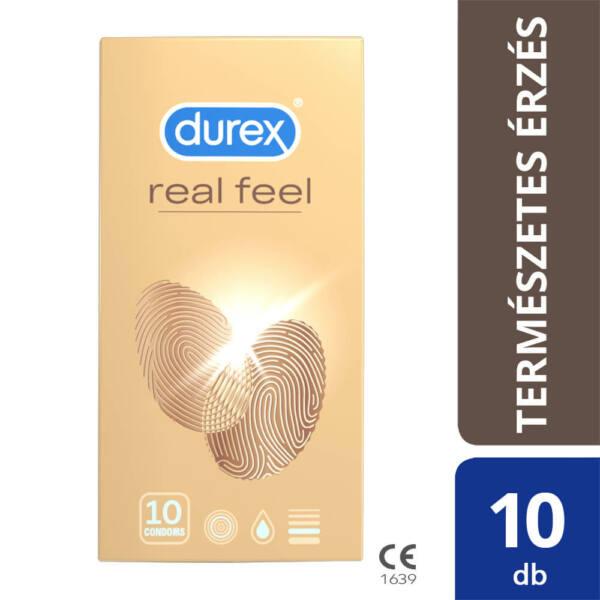 Durex Real Feel - bezlatexové kondómy (10 ks)