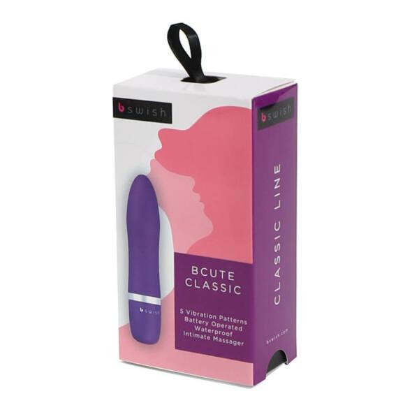 B Swish - bcute Classic Vibrator Purple