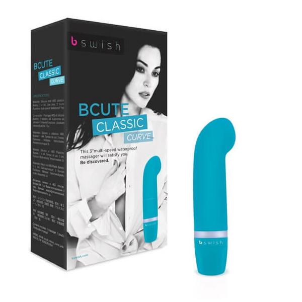 B Swish - bcute Classic Vibrator Curve Jade