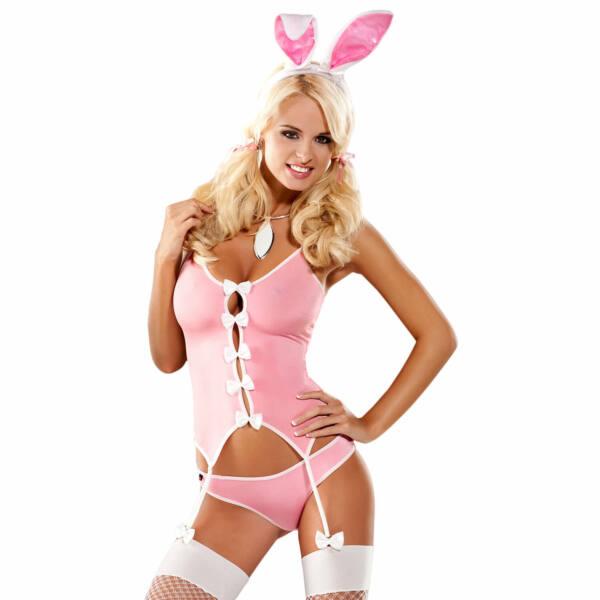 Obsessive Bunny Suit Costume - kostým zajačika (pink)