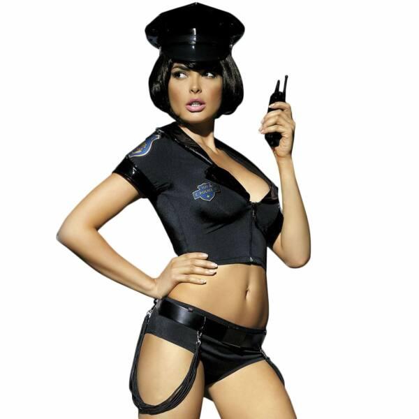 Obsessive - Police Set Costume SM