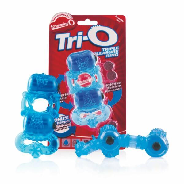 THE SCREAMING O - THE TRI-O BLUE