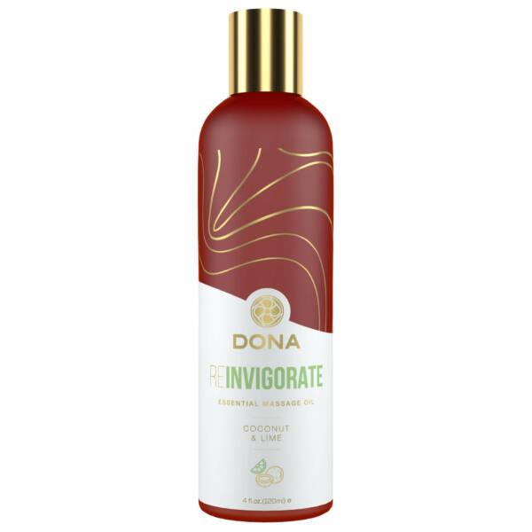 Dona - Essential Massage Oil Reinvigorate Coconut Lime 120 ml
