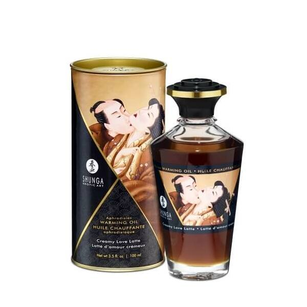 Shunga - Aphrodisiac Warming Oil Creamy Latte 100 ml