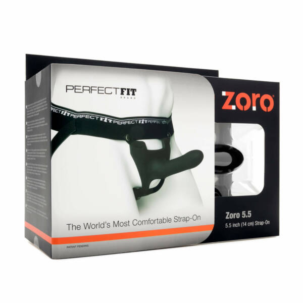 Perfect Fit - Zoro Strap-On 14 cm Black