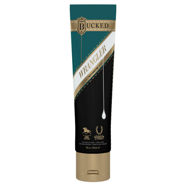 BUCKED - WRANGLER MASTURBATION CREAM UNSCENTED 60 ML